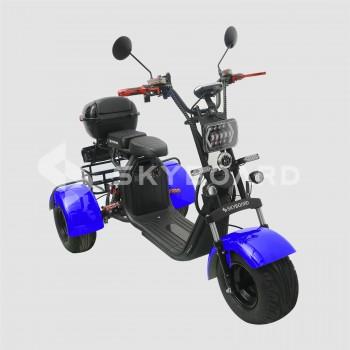 Электроскутер CityCoco SkyBoard Trike BR40-3000 PRO Синий