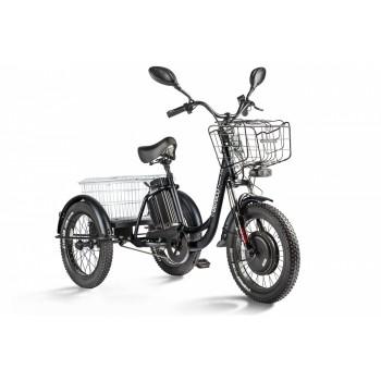 Трицикл Eltreco Porter Fat 500 Черный