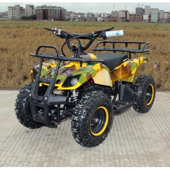 Квадроцикл GreenCamel Gobi K200 (36V 800W R6 Цепной привод) Армейский желтый