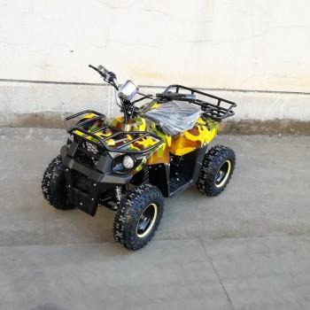Квадроцикл GreenCamel Gobi K400 (36V 800W R6 Цепной привод) Армейский желтый