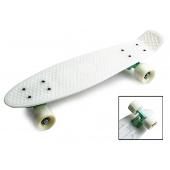 "Пенни борд Zippy Board penny 22"" - Белый"