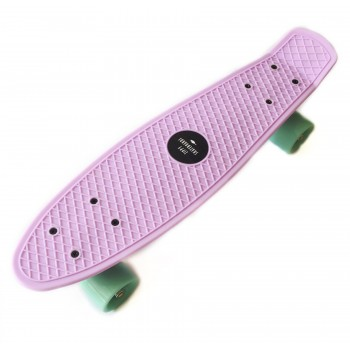 "Пенни борд Zippy Board penny 22"" Lilac - Лиловый"