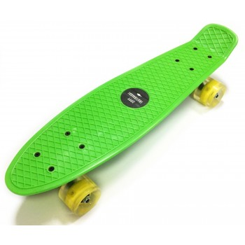 "Пенни борд Zippy Board penny 22"" Green"